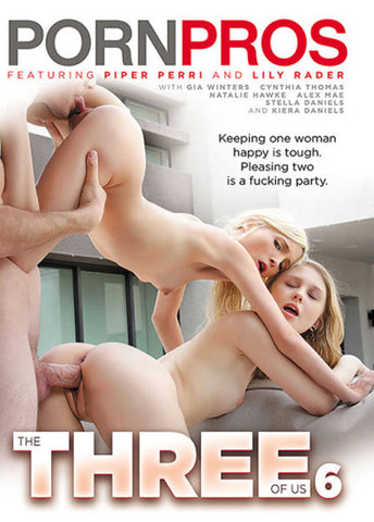 The Three Of Us 6 Adult DVD