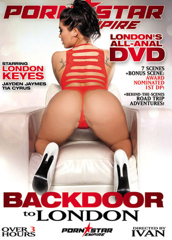 Cheap Backdoor To London porn DVD