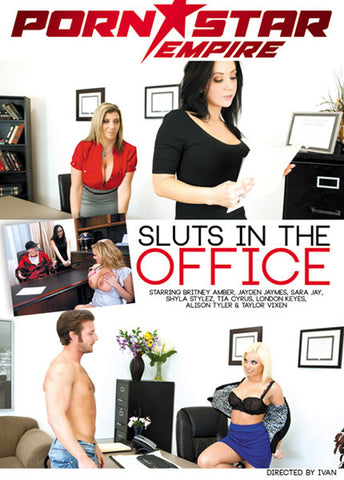 Cheap Sluts In The Office porn DVD