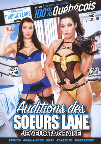 Cheap Auditions Des Soeurs Lane Je Veux Ta Graine porn DVD