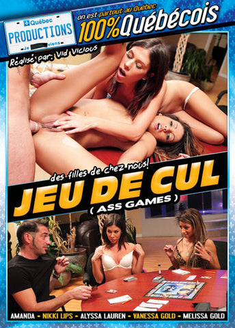 Cheap Jeu De Cul (Ass Games) porn DVD