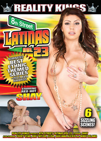 Cheap 8th Street Latinas 23 porn DVD