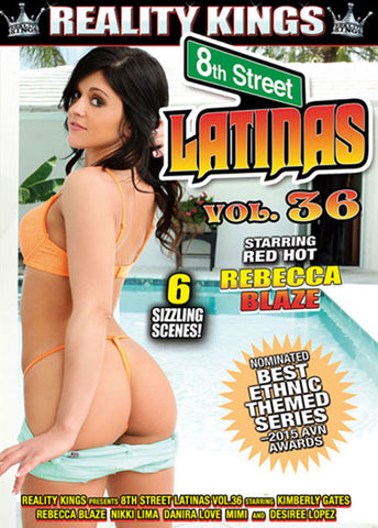8th Street Latinas 36 Sex DVD
