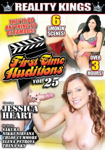 Cheap First Time Auditions 25 porn DVD