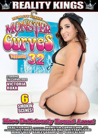 Monster Curves 32 Adult Movies DVD