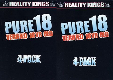 Cheap Pure 18 4 Pack (4 Disc Set) porn DVD