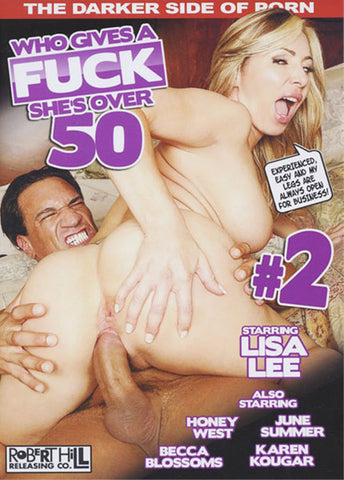 Who Gives A Fuck She's Over 50 2 Porn DVD