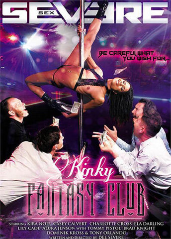 Kinky Fantasy Club (2 Disc Set) Adult Movies DVD