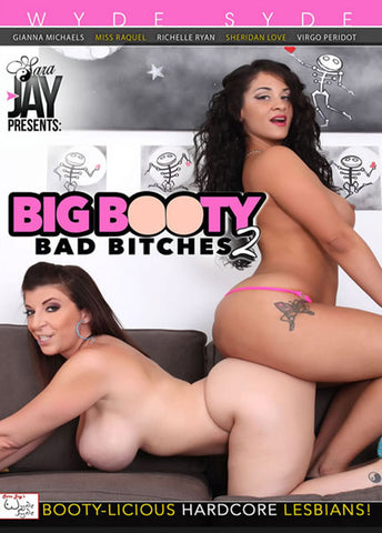 Sara Jay's Big Booty Bad Bitches 2 Adult Movies DVD