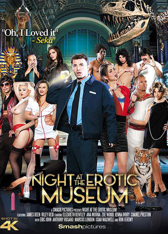 Cheap Night At The Erotic Museum porn DVD