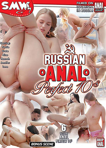 Cheap Russian Anal Perfect 10s porn DVD