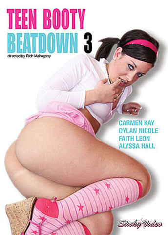 Cheap Teen Booty Beatdown 3 porn DVD