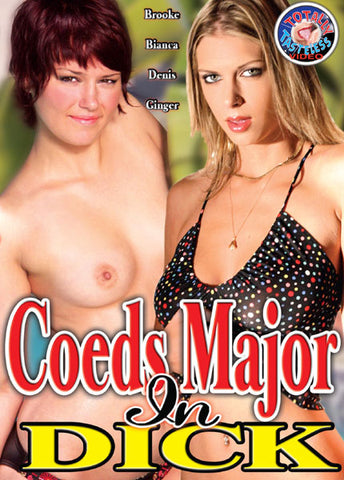 Cheap Coeds Major In Dick porn DVD