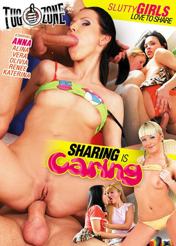 Cheap Sharing Is Caring porn DVD