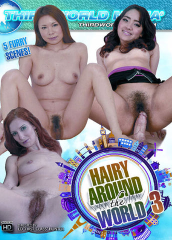 Hairy Around The World 3 Sex DVD