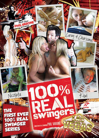 Cheap 100% Real Swingers: Las Vegas porn DVD