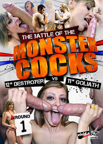 Cheap The Battle Of The Monster Cocks porn DVD