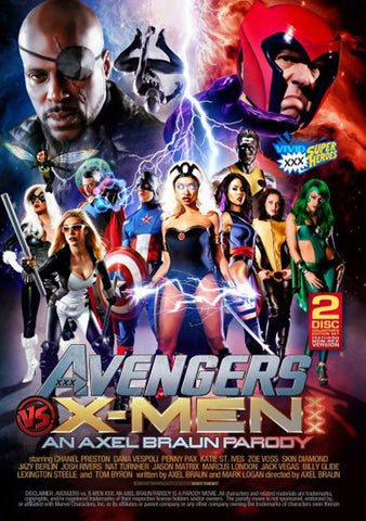 Avengers Vs X-Men XXX: An Axel Braun Parody Adult DVD