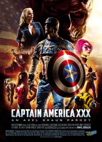 Cheap Captain America XXX: An Axel Braun Parody porn DVD