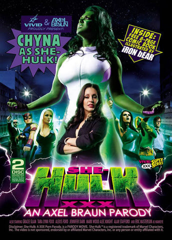 Cheap She-Hulk XXX: An Axel Braun Parody (2 Disc Set) porn DVD
