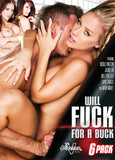 Cheap Will Fuck For A Buck 6 Pack porn DVD