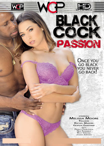 Black Cock Passion Adult DVD