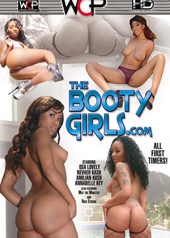 The Booty Girls.com Adult DVD