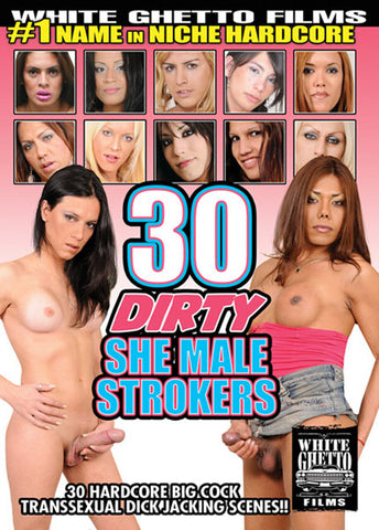 Cheap 30 Dirty She Male Strokers porn DVD