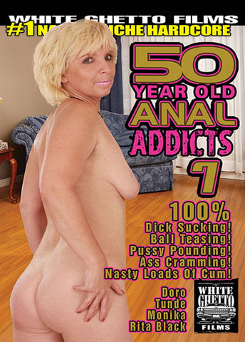 50 Year Old Anal Addicts 7 Sex DVD