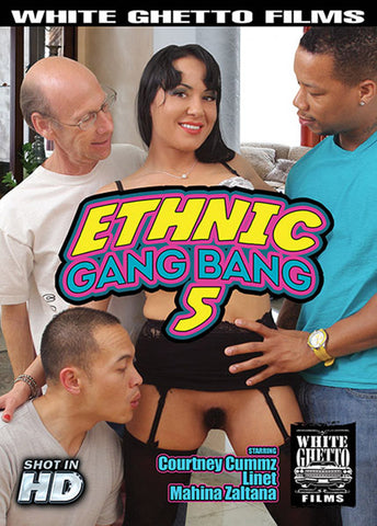 Ethnic Gang Bang 5 Sex DVD