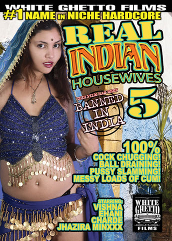 Cheap Real Indian Housewives 5 porn DVD