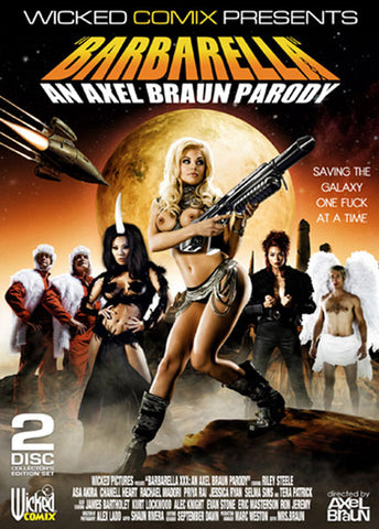 Cheap Barbarella: An Axel Braun Parody porn DVD