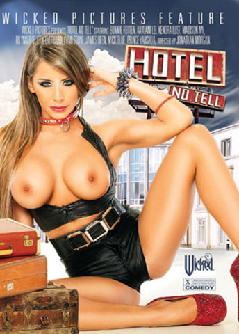 Cheap Hotel No Tell porn DVD