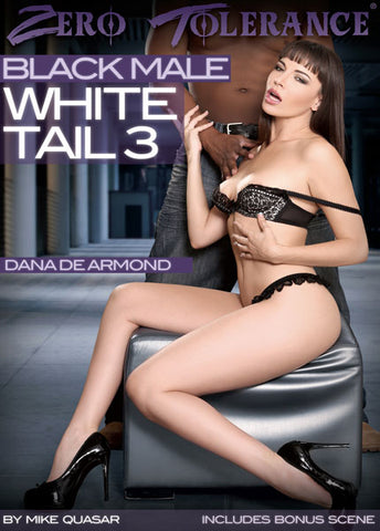 Cheap Black Male White Tail 3 porn DVD