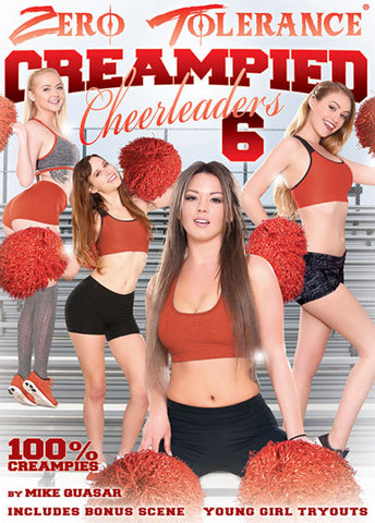 Creampied Cheerleaders 6 XXX Adult DVD