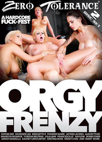 Cheap Orgy Frenzy (2 Disc Set) porn DVD