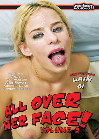 Cheap All Over Her Face 2 porn DVD