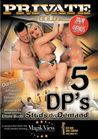 5DP's Studs On Demand Adult Movies DVD