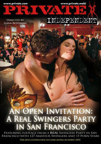 Cheap An Open Invitation: A Real Swingers Party In SF porn DVD