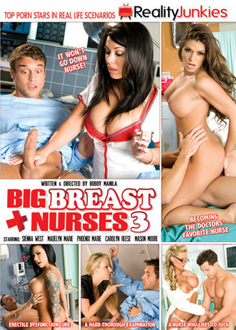 Cheap Big Breast Nurses 3 porn DVD