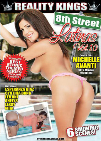 Cheap 8th Street Latinas 10 porn DVD