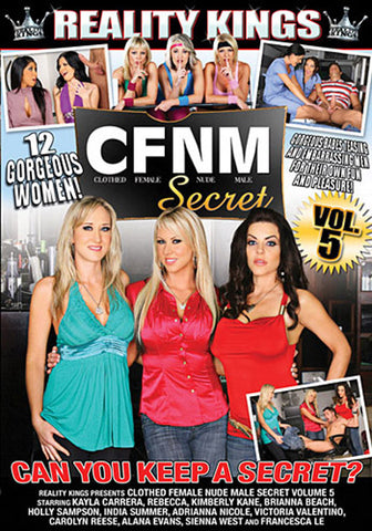 Cheap CFNM: Clothed Female Nude Male Secret 5 porn DVD