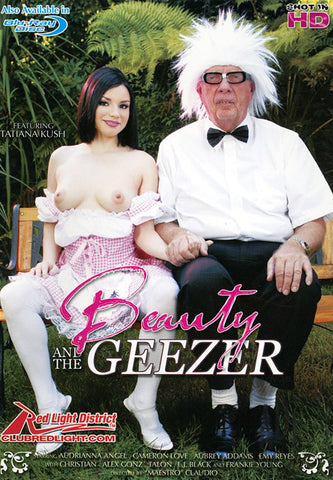 Cheap Beauty And The Geezer porn DVD