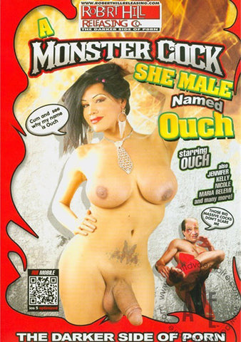 A Monster Cock She Male Named Ouch Sex DVD