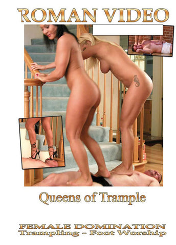 Cheap Queens Of Trample porn DVD