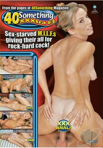 Cheap 40 Something XXXtra 3 porn DVD