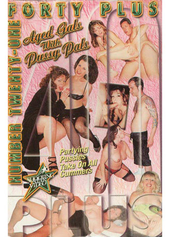 40+ 21 Aged Gals With Pussy Pals XXX DVD
