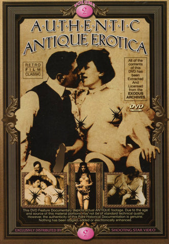 Authentic Antique Erotica 2 XXX DVD