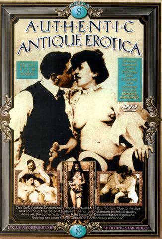 Authentic Antique Erotica 8 XXX DVD