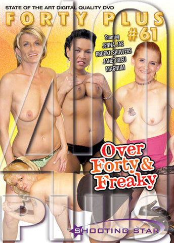 Cheap Forty Plus 61: Over Forty & Freaky porn DVD